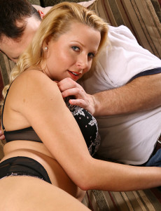 Hot  Cougar Jacey Takes a Long Hard Shaft to Its Hilt
