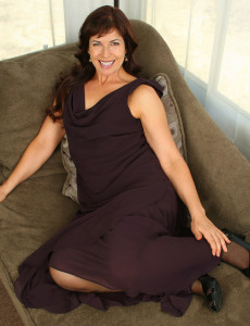 Elegant  Cougar Andie from Allover 30  Opens Her Tight  Hairy  Beaver