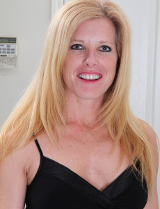 Blond and Elegant Mild Gail from  Milfs30  Takes off and  Opens